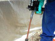 Les avantages de l'utilisation d'une injection de résine sur les fondations